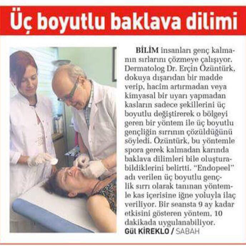 endopeel interview TR ozunturk