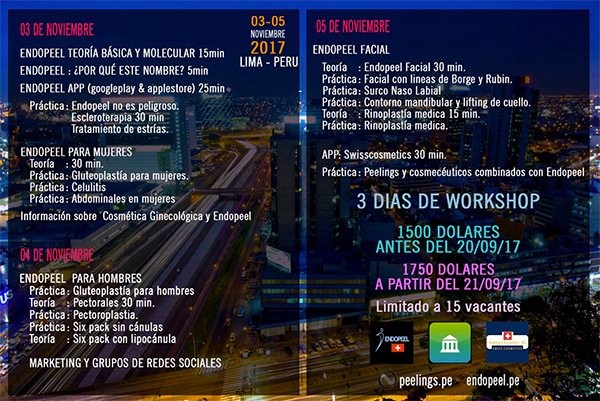 workshop program peru 2017
